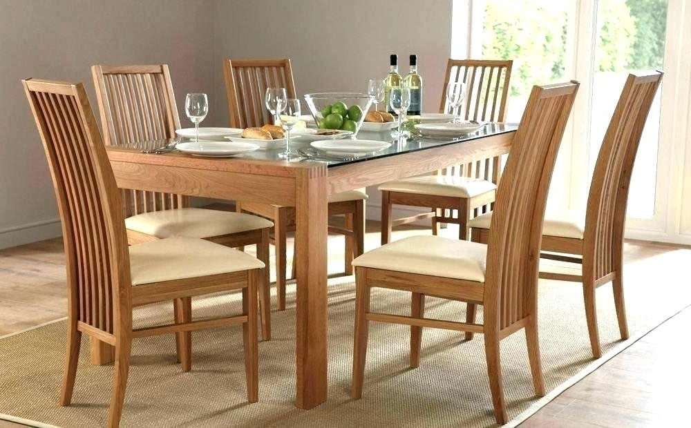 Favorite Dining Table Set For 6 Dining Table Set 6 – Insynctickets Pertaining To Glass Dining Tables With 6 Chairs (View 11 of 20)