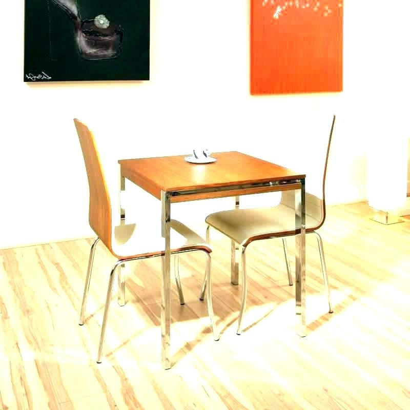 Favorite Dining Tables And 2 Chairs Regarding Compact Dining Table And Chairs Best Small Dining Tables Small (View 12 of 20)
