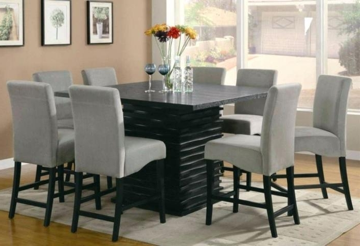 Favorite Dining Tables And 8 Chairs Sets Pertaining To  (View 13 of 20)