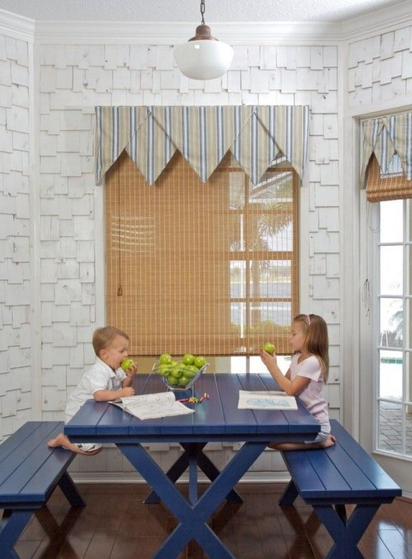 Favorite Embrace The Relaxed Style Of Indoor Picnic Tables (View 19 of 20)