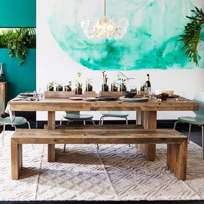 Favorite Embrace The Relaxed Style Of Indoor Picnic Tables (View 2 of 20)