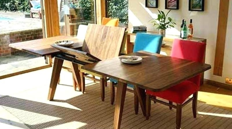 Favorite Extendable Dining Tables Sets Intended For  (View 13 of 20)
