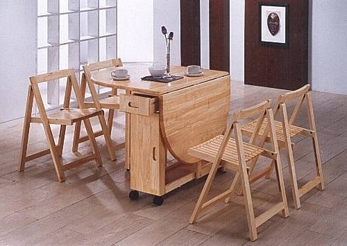 Favorite Folding Dining Table With Chairs Inside (View 10 of 20)