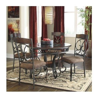 Favorite Grady 5 Piece Round Dining Sets With Wren Post 5 Piece Dining Set (View 7 of 20)
