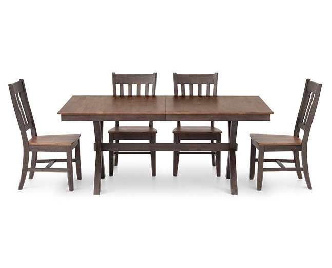 "Favorite Hudson Park 60"" Rectangle Dining Table – Furniture Row In Hudson Dining Tables And Chairs (View 2 of 20)"