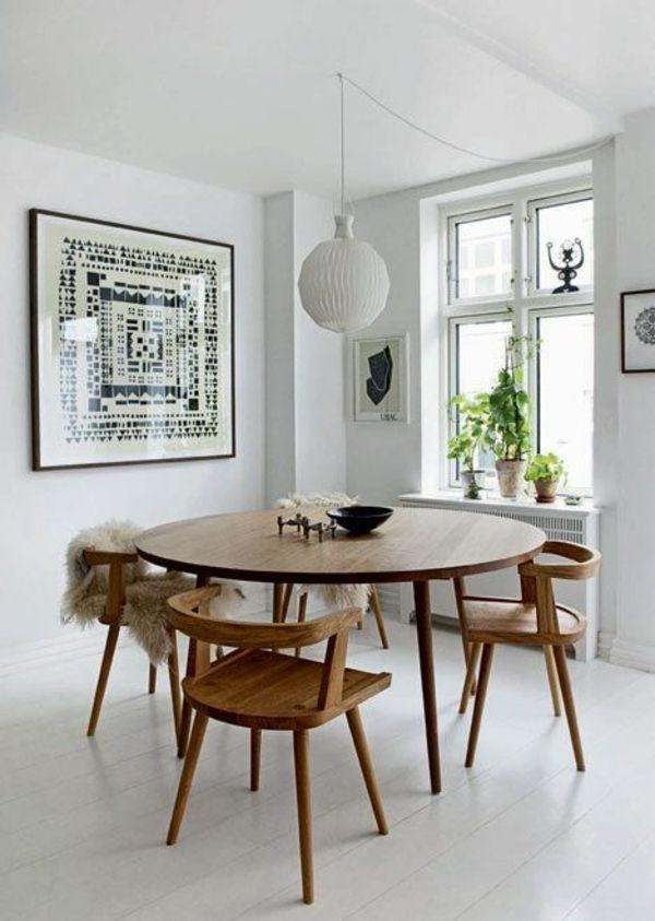 Favorite Inspirierende Holztische Lassen Die Wohnung Naturnah Aussehen Within Lassen Round Dining Tables (View 4 of 20)