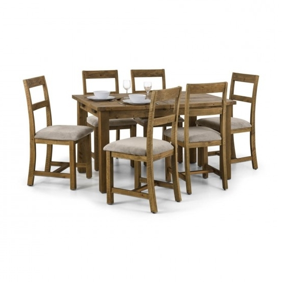 Favorite Julian Bowen Aspen Extending Wooden Dining Table And 4 Aspen Dining With Regard To Aspen Dining Tables (View 12 of 20)