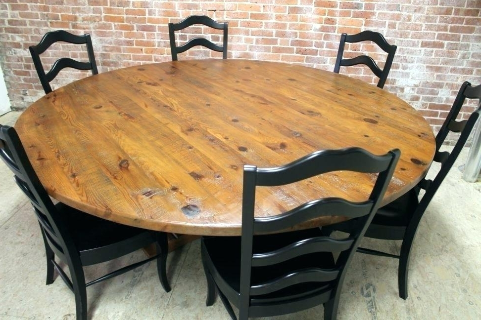 Favorite Large Circular Dining Tables Inside Large Extending Circular Dining Table Big Circle Extra Tables And (View 5 of 20)