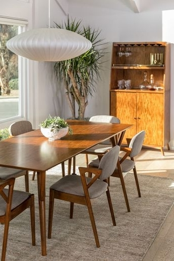 Favorite Lowell Extension Table With Regard To Amos 7 Piece Extension Dining Sets (View 9 of 20)