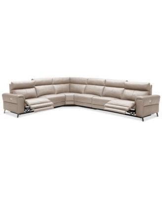 Favorite Marcus Chocolate 6 Piece Sectionals With Power Headrest And Usb With Regard To Raymere 6 Pc (View 5 of 15)