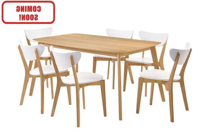 Favorite Oak Dining Suites With Regard To Dare Gallery – Helsinki Dining Table Rect (View 6 of 20)
