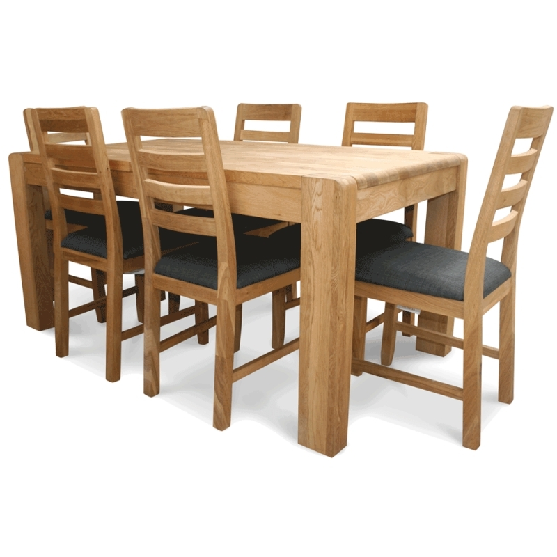 Favorite Oak Extending Table And Chairs Inside Caira Extension Pedestal Dining Tables (View 13 of 20)