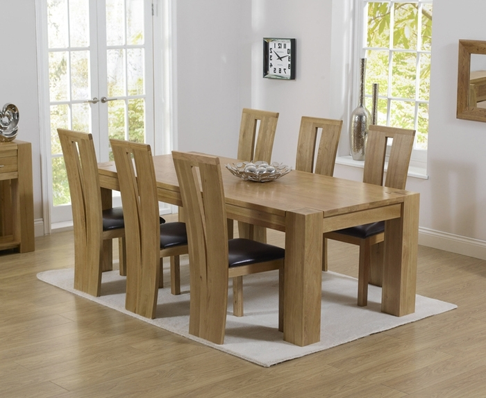 Favorite Oak Furniture Dining Sets Throughout Dining Room Oak Furniture – Domainmichael (View 5 of 20)