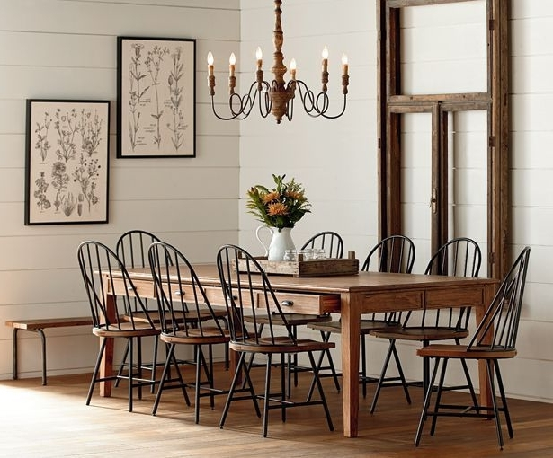 Favorite On My Recent Shopping Trip I Checked Out Joanna Gaines New Furniture For Magnolia Home Array Dining Tables By Joanna Gaines (View 4 of 20)