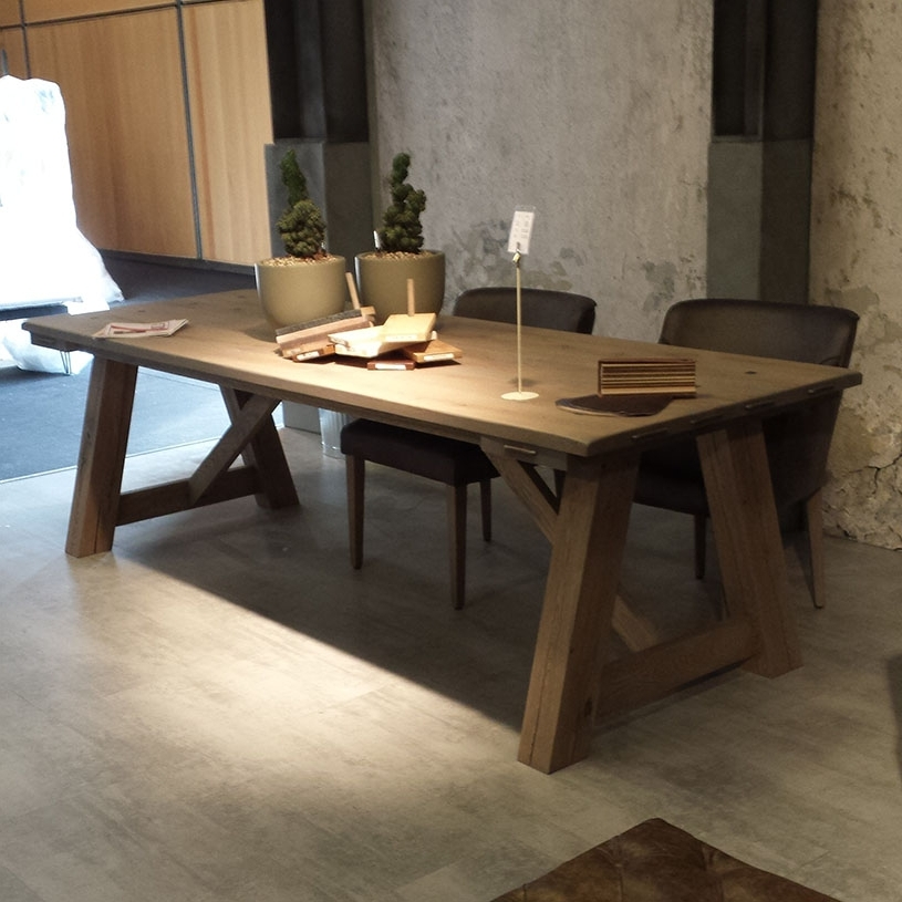 Favorite Rustic Dining Tables With Round Rustic Dining Tables – Thunderdomemag Home Decor (View 5 of 20)