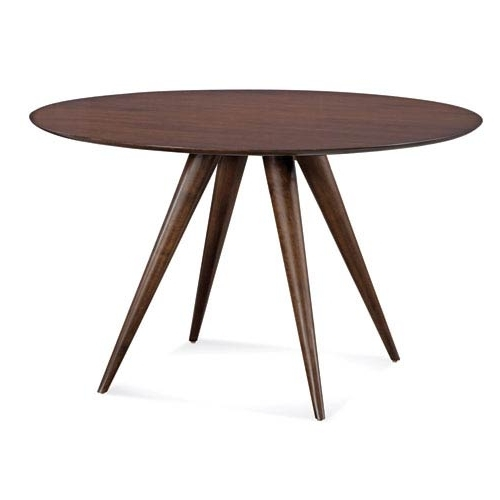 Favorite Saloom Furniture Iris 48 Inch Java Round Dining Table Scwo 4848 Irs Intended For Java Dining Tables (View 9 of 20)