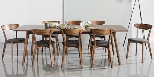 Favorite Scandinavian Furniture – Affordable & Simplistic Scandinavian Style With Scandinavian Dining Tables And Chairs (View 6 of 20)