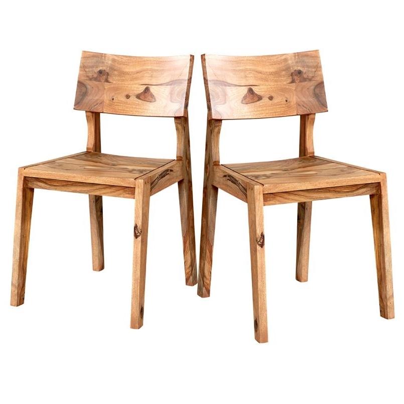 Favorite Sheesham Wood Dining Chairs Pair – Jodhpur With Regard To Sheesham Dining Chairs (View 10 of 20)
