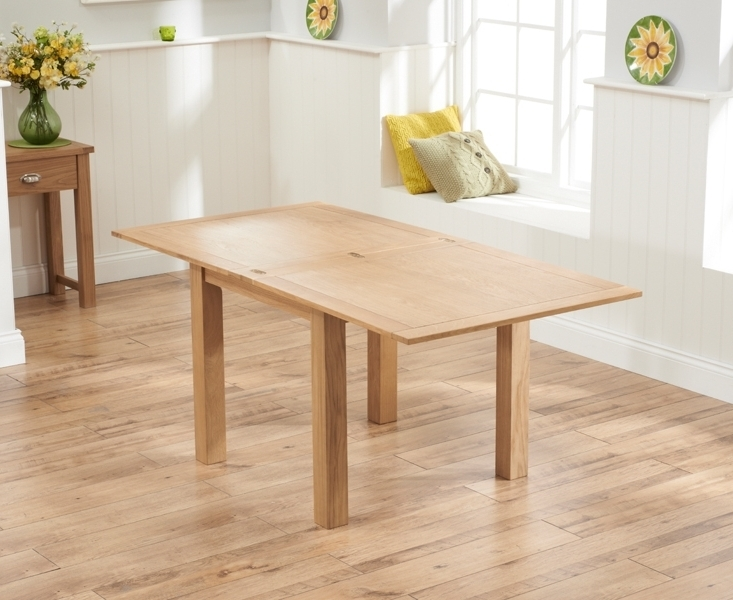 Flip Top Oak Dining Tables Inside Preferred Buy Mark Harris Sandringham Solid Oak Dining Table – 90cm Square (View 8 of 20)