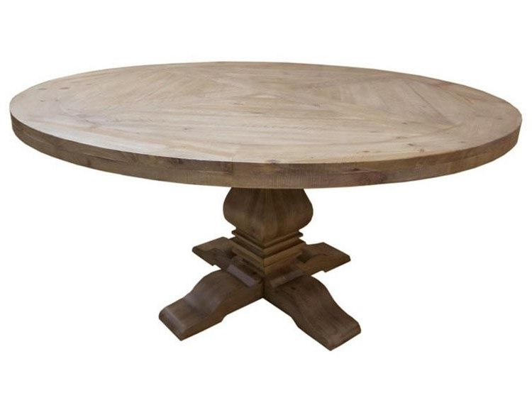 Florence Dining Tables Inside Latest Coaster Donny Osmond Home Florence Round Pedestal Dining Table In (View 3 of 20)