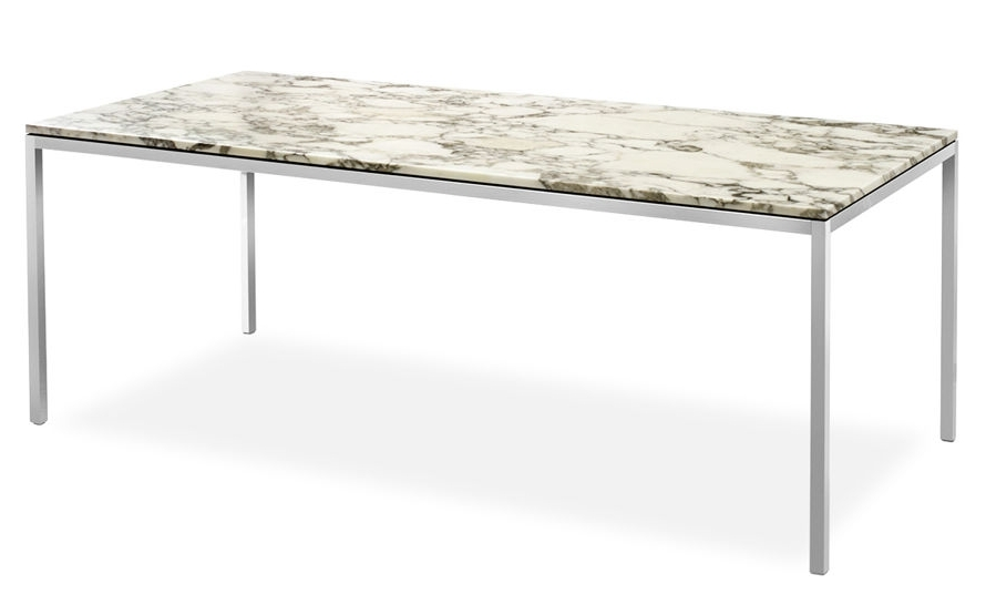 Florence Knoll Rectangular Dining Table – Hivemodern Within Well Known Florence Dining Tables (View 7 of 20)