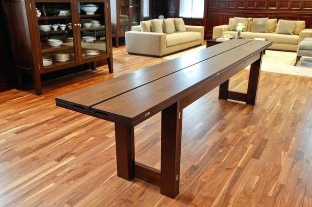 Foldaway Dining Tables With Most Up To Date Folding Dining Tables – Buxenz (View 5 of 20)