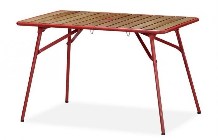 Folding Outdoor Dining Tables Inside Most Current 5 Favorites: Folding Outdoor Dining Tables – Gardenista (View 3 of 20)