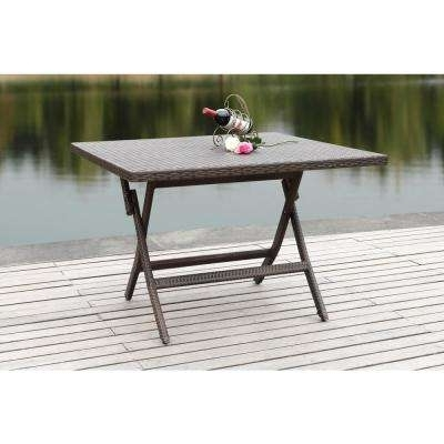 Folding – Patio Dining Tables – Patio Tables – The Home Depot Intended For Famous Folding Outdoor Dining Tables (View 16 of 20)