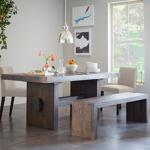 Featured Photo of Natural Wood & Recycled Elm 87 Inch Dining Tables