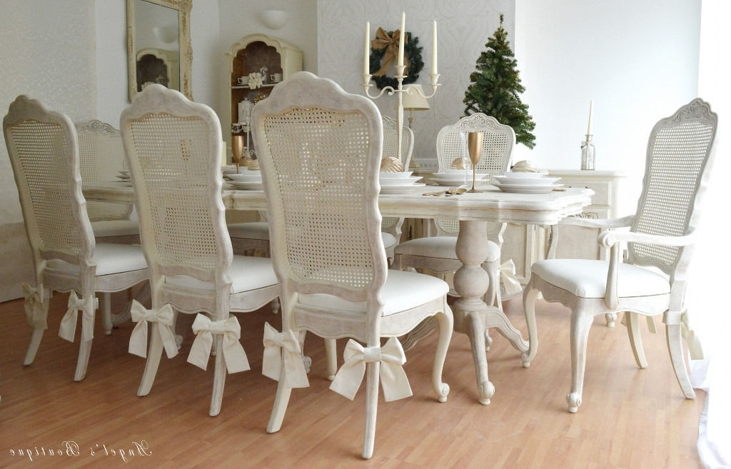 French Chic Dining Tables Inside Most Up To Date Unique & Beautiful *** French Antique Shabby Chic Dining Table With (View 9 of 20)