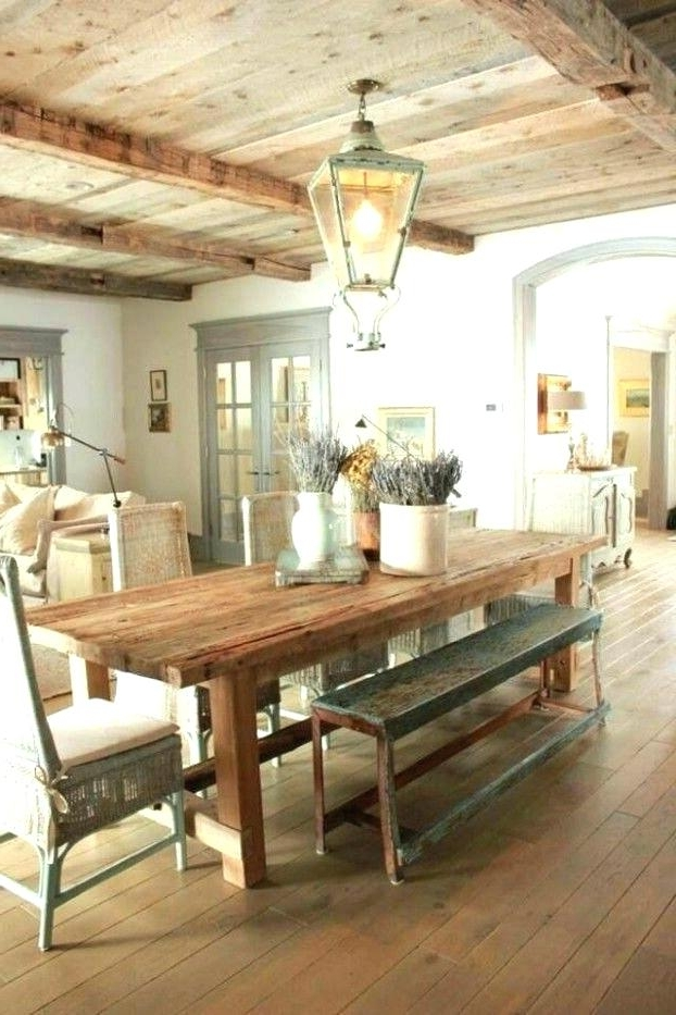 French Country Dining Room French Country Dining Room Best Country Pertaining To Most Current Country Dining Tables (View 10 of 20)