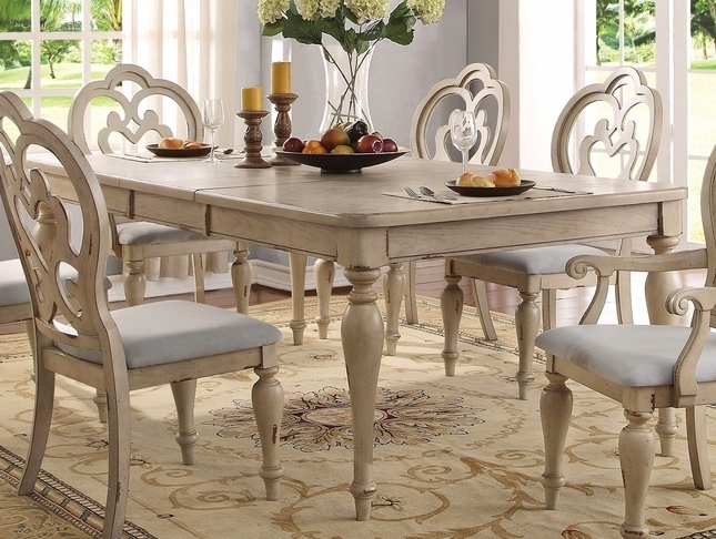 French Country Dining Table Set (View 2 of 20)