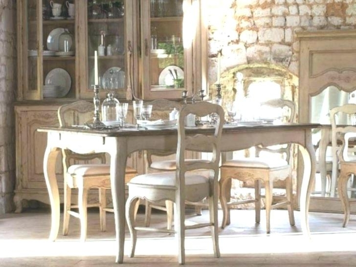 French Country Dining Tables For Best And Newest French Style Round Dining Table – Pizzaitaliana (View 8 of 20)