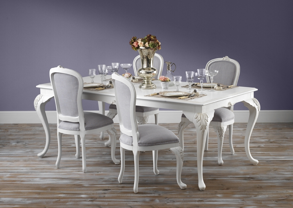 French Country Dining Tables With Regard To 2018 Beaulieu Carved French Style Dining Table From Crown French Furniture – (View 11 of 20)