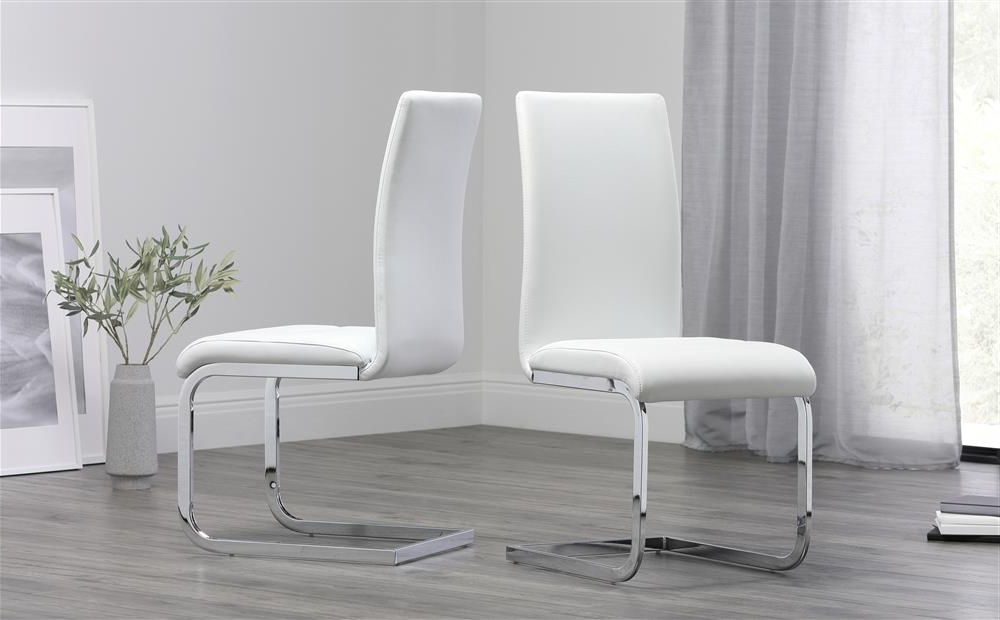 Featured Photo of Perth White Dining Chairs