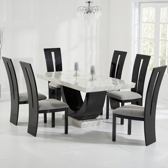 Furniture In Fashion With Regard To Marble Dining Chairs (View 5 of 20)