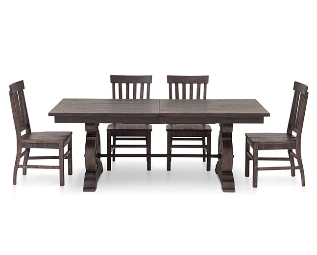 Furniture Row In Magnolia Home Bench Keeping 96 Inch Dining Tables (View 7 of 20)