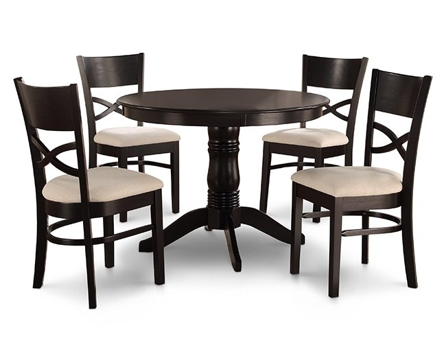Furniture Row Inside Craftsman 7 Piece Rectangle Extension Dining Sets With Arm & Side Chairs (View 16 of 20)