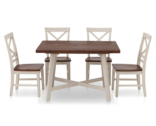 Furniture Row With Regard To Craftsman Rectangle Extension Dining Tables (View 10 of 20)