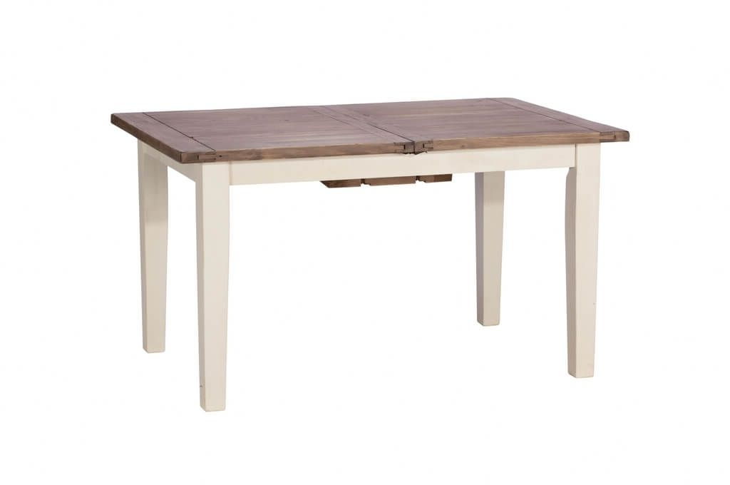 Furniture: Rustic Oak Wood Extendable Small Dining Table Idea Inside Preferred Small Square Extending Dining Tables (View 9 of 20)