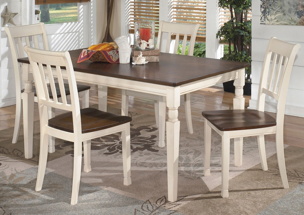Furniture Wholesale To The Public Whitesburg Rectangular Dining Throughout Well Known Craftsman 5 Piece Round Dining Sets With Side Chairs (View 16 of 20)