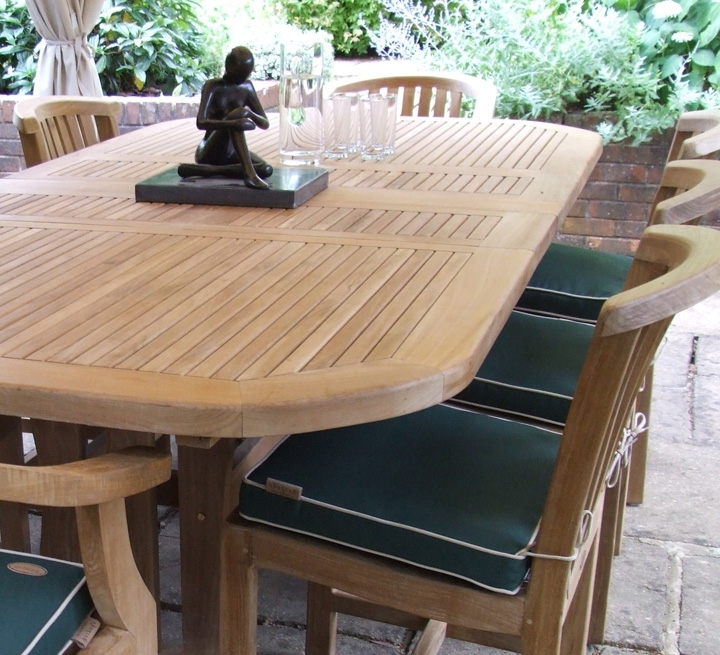 Garden Dining Tables And Chairs Throughout Preferred Garden Dining Tables – Ujecdent (Gallery 17 of 20)