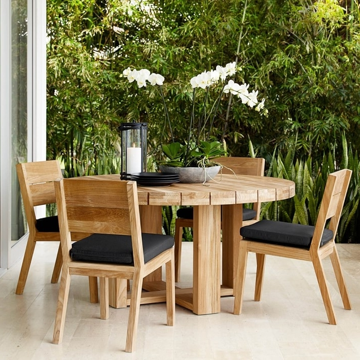 Garden Dining Tables And Chairs With Regard To Popular Dining Room Small Garden Furniture Sets Round Table Garden Furniture (View 9 of 20)