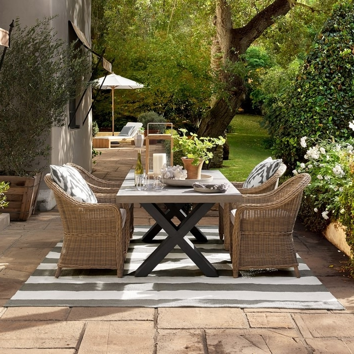 Garden Dining Tables Regarding Most Recently Released Dining Room Garden Furniture Dining Sets Round Garden Dining Table (View 12 of 20)