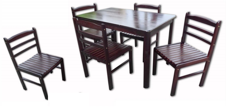 Gavin Dining Tables Within Well Known Gavin Dining Set 6's – Lorenz Furniture (View 12 of 20)
