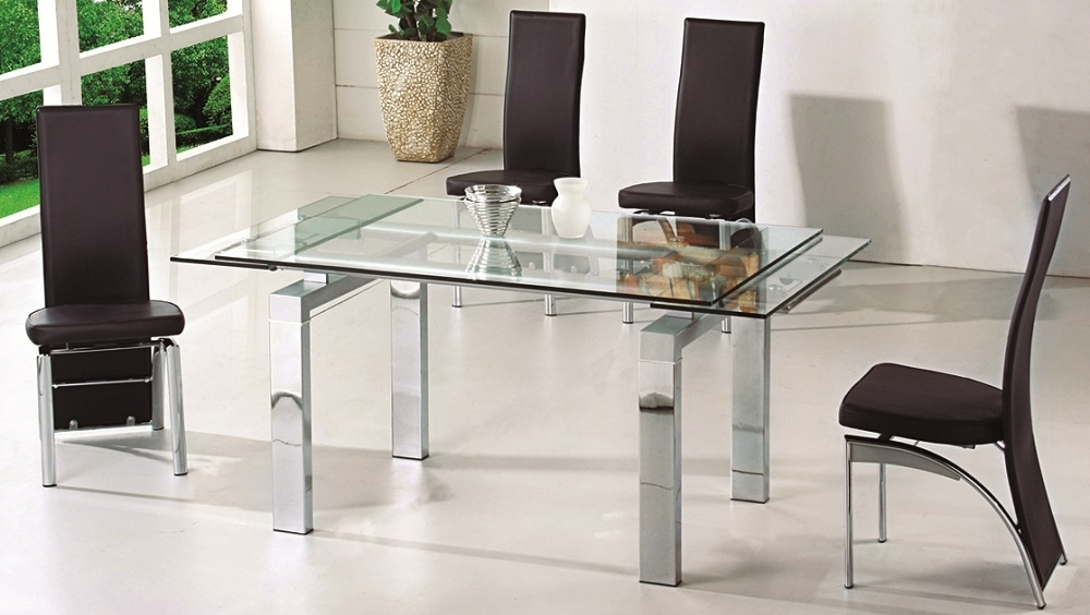 Gestablishment Home Ideas Regarding Most Recently Released Extendable Glass Dining Tables (Gallery 15 of 20)