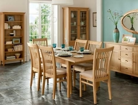 Get The 8 Seater Dining Table For Your Family's Ultimate Comfort Within Most Recently Released Oak 6 Seater Dining Tables (Gallery 16 of 20)