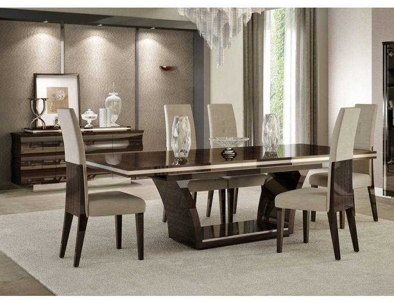 Giorgio Italian Modern Dining Table Set Pertaining To 2018 Cheap Contemporary Dining Tables (Gallery 1 of 20)