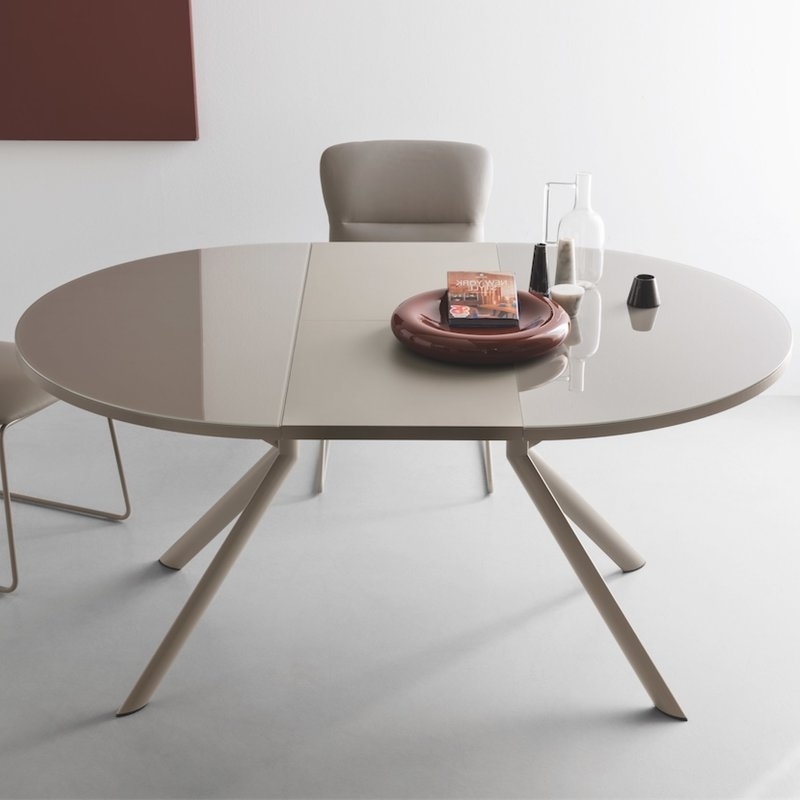 Giove Round Extendable Dining Table (Gallery 1 of 20)