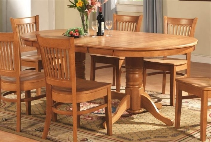 Glass And Oak Dining Tables And Chairs With Well Known 2. Country Style Oak Dining Room Furniture Glass Kitchen Table Set (Gallery 13 of 20)